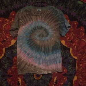 Tops - A tie-dye shirt